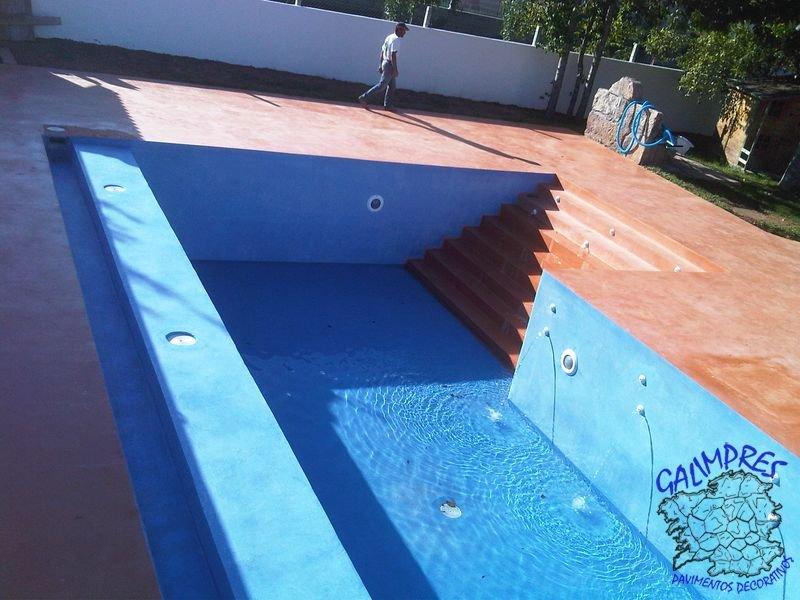 Galimpres pavimentos informaci n - Microcemento piscinas ...